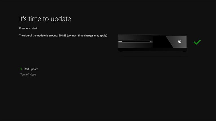 xbox updates