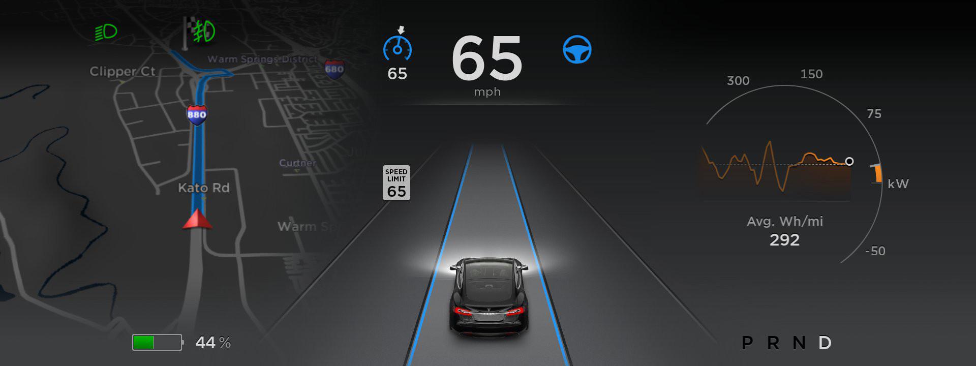 Tesla AutoPilot Beta