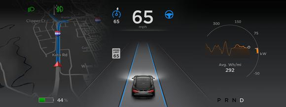 tesla energy display