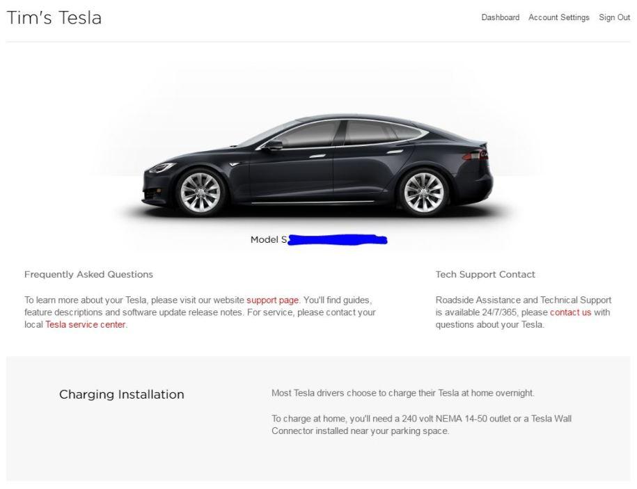 My Tesla Credit Card Missing