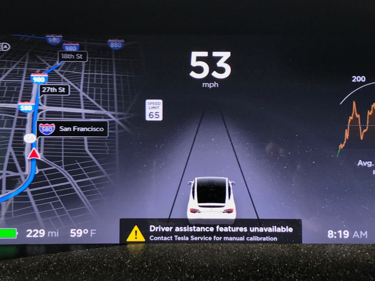 Tesla Autopilot Trial Didn't Work - Screenshots